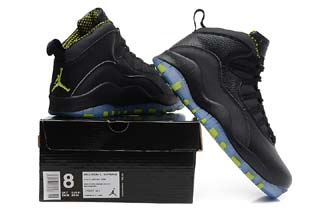 Authentic Air Jordan 10 Retro-9