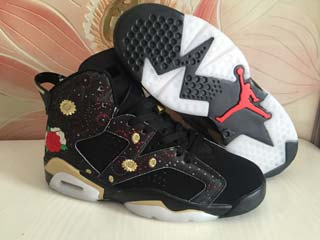 Air Jordan 6 women shoes-116