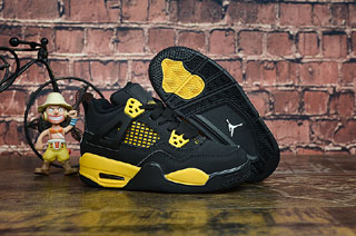 Air Jordan 4 Kid shoes-3