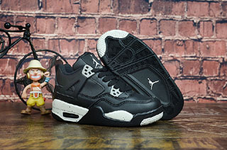 Air Jordan 4 Kid shoes-5