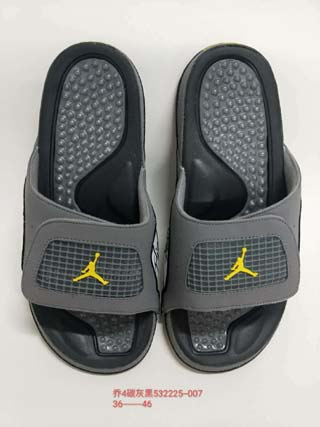 Air Jordan 4 Slipper Shoes-1
